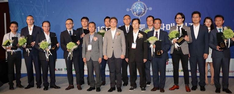 アジア通販サミット2018受賞者記念撮影(韓国ソウルにて)
